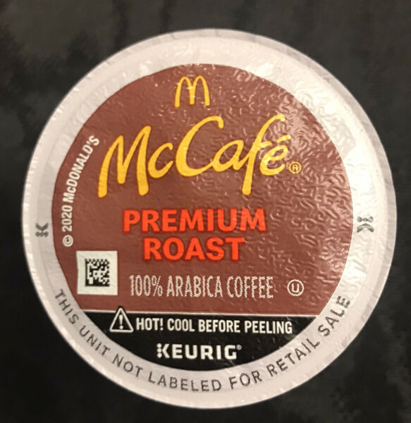 McCafe Premium Roast 100 K Cup Coffee Pods Coffee Bulk Package Free Shipping