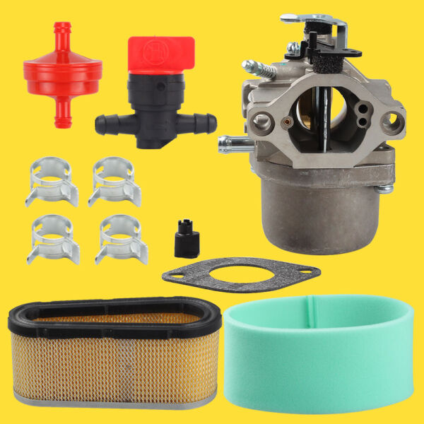 Carburetor Kit Fit Riding Mower 12.5 Hp For Briggs Stratton LMT 5 4993 Murray $21.26