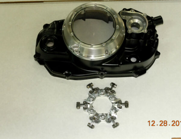 YAMAHA BANSHEE CLUTCH LOCK UP COVER BANSHEE QUICK CHANGE COVER WITH LOCK UP $299.00