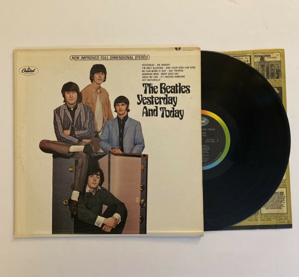 The Beatles Yesterday And Today 1966 US Stereo ST 2553 VG No Butcher