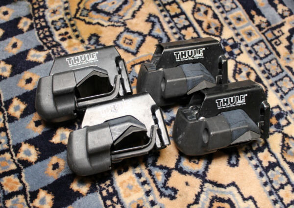 Set of 4 Thule 1054 415 Rail Foot Pack Towers Complete $46.00