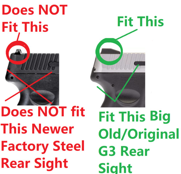Optic Mount Plate for TAURUS G2 G2C TX22 G3 for ADE RD3 006 009 012 013 Red Dot $24.75