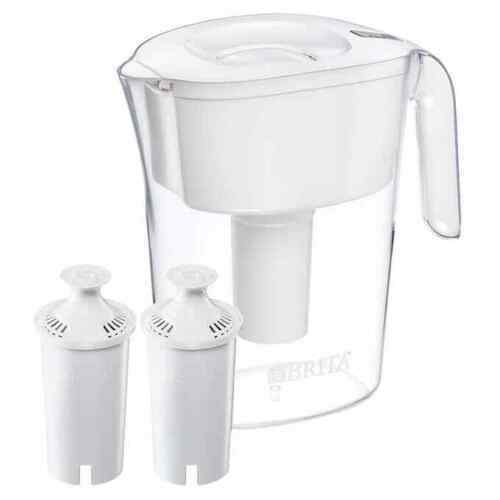 BRITA 10 Cup Lake Water Filter Pitcher with 2 Filter amp; AutoFill Lid 9993333