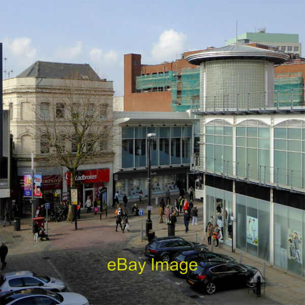 Photo 6x4 Dudley Street in Wolverhampton Seen from the rooftop car park o c2016 GBP 2.25