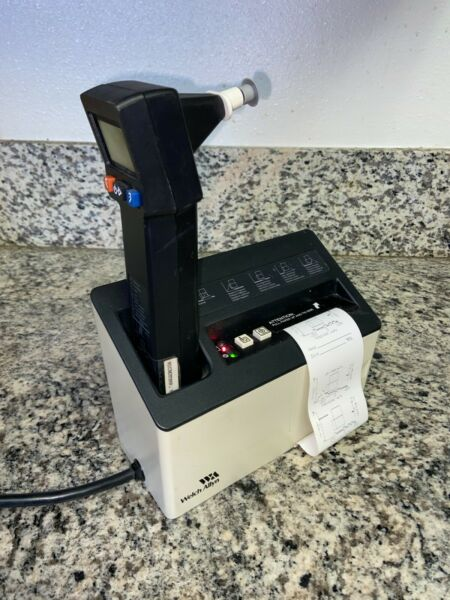 Welch Allyn MICROTYMP Tympanometer w Printer Charger and NEW Battery