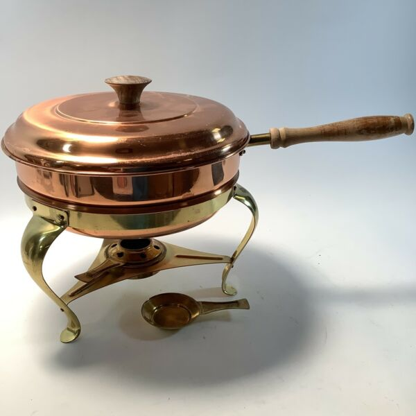 Vintage Tagus Buffet Chafing Dish Warming Server Untested