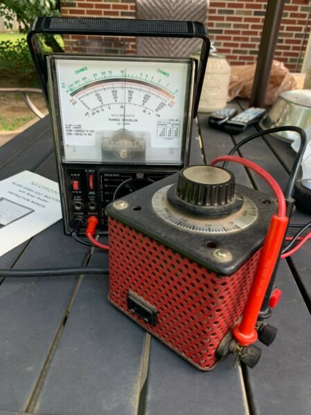 Staco Variable Transformer Red Tested
