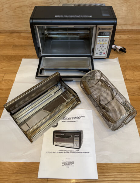 Behmor 1600 Customizable Drum Coffee Roaster TO9500T TESTED EXCELLENT FAST