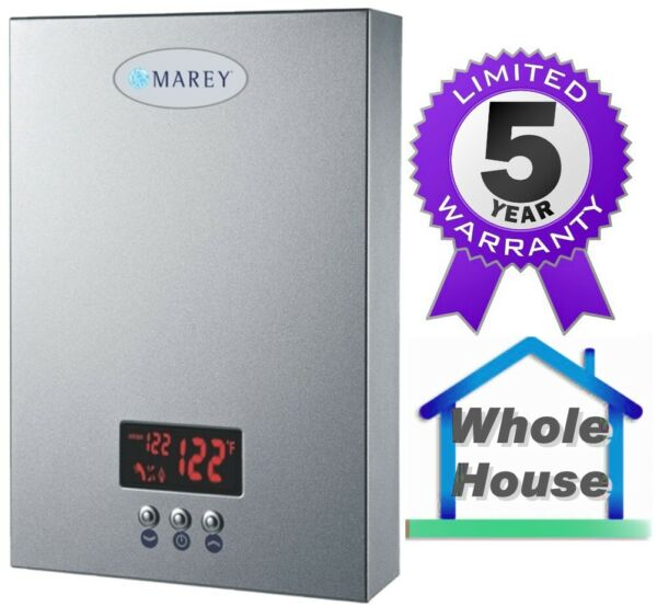Electric Tankless Water Heater MAREY ECO180 18 KW 5GPM ETL 220V Fast Shipping $352.99