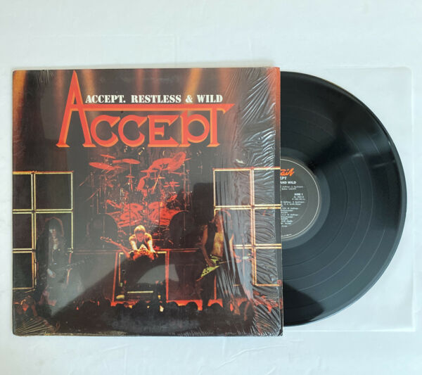 Accept Restless amp; Wild 1983 US 1st Press NM in Shrink Ultrasonic Clean