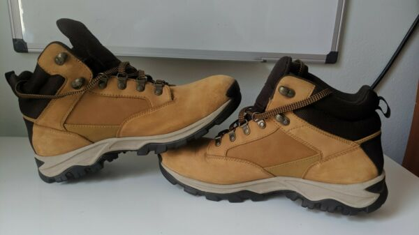 Timberland Boots Men Tan Suede Size 11
