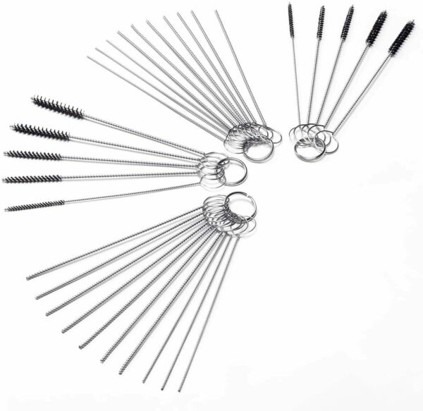 Carb Carburetor Cleaner Cleaning Brushes Kit Small Wire Brush 20 Needles 10 $10.63