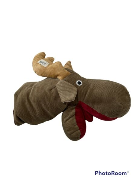 Woolrich Dog Moose Puppet Toy A1 Missing Eye $19.95