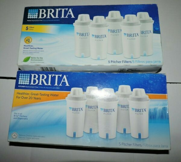10 Brita Pitcher Replacement Water Filters