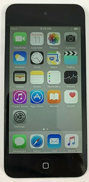 Apple iPod Touch 5th Gen. Silver Black 16 GB Excellent Cond. 90 DAY WARRANTY