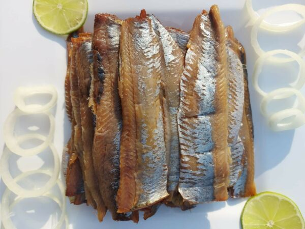 Smoked Herring Fish 1lb. Skinless Salted Fillet. Product of Canada. $13.99