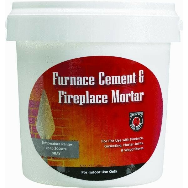 12 Gallon Furnace Cement For Fireplaces
