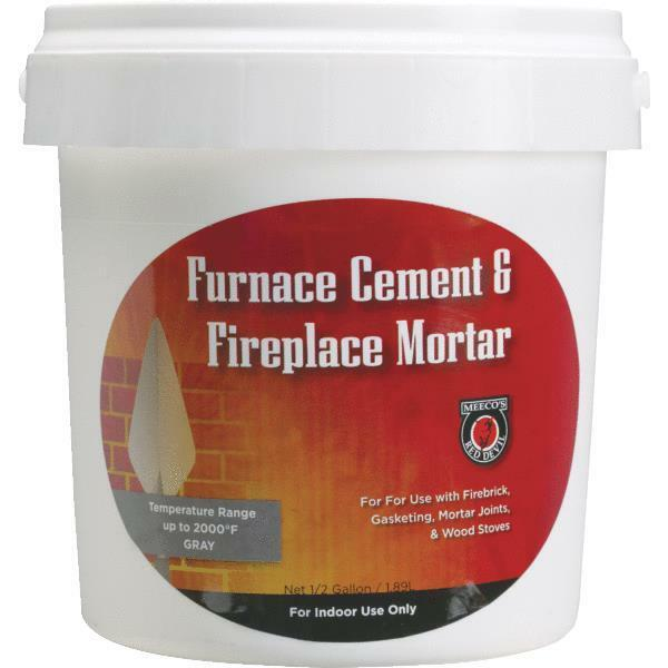 12 Gallon Furnace Cement For Fireplaces 4Pk