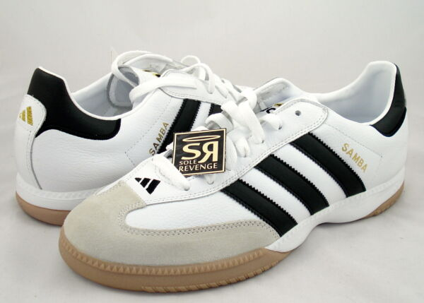 New! Adidas Samba Millennium Shoes White Trainers Boots indoor soccer superstar