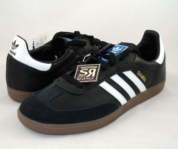 New! Adidas Originals Samba Classic Shoes Black G17100 indoor soccer