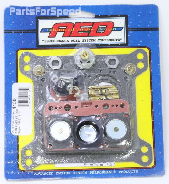 AED Holley 4150 Rebuild Kit Double Pumper Carbs 750 650 $69.99