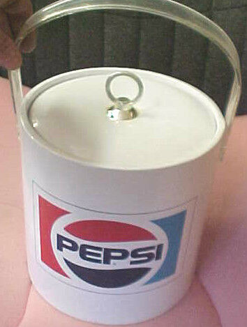 BS1 Vintage RARE Pepsi Soda Pop cola Made in the USA Ice pail bucket insulated