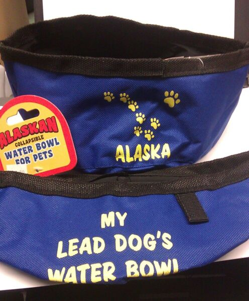 Alaska Collapsible Water Bowl For Pets My Lead Dog#x27;s Water Bowl Big Dipper $4.99