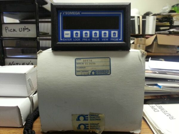 OMEGA #DPF78 FREQUENCY INPUT RATEMETERTOTALIZER