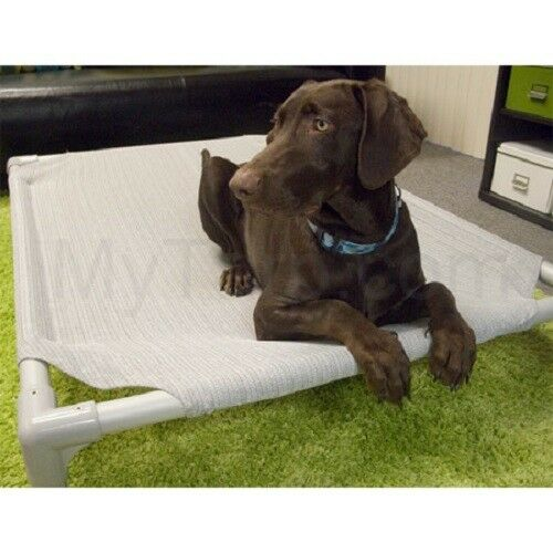 Coolaroo Dog Bed Small 27.7quot; x 21.8quot; Aluminum Frame 50% OFF Birch Color $25.00