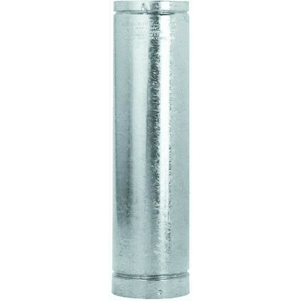 6 Type L Insulated Pellet Stove Pipe 3quot; X 24quot; Galvanized W Stainles Liner 3VP 24 $167.99