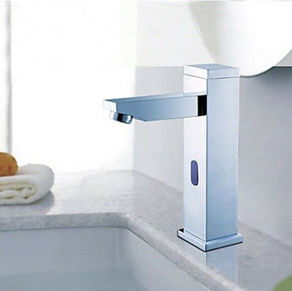 Automatic Hands Free Sensor Bathroom Faucet (Hot & Cold) by Cascada Showers