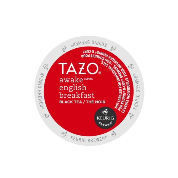 Tazo Awake English Breakfast Black Tea Keurig K-Cups 48-Count