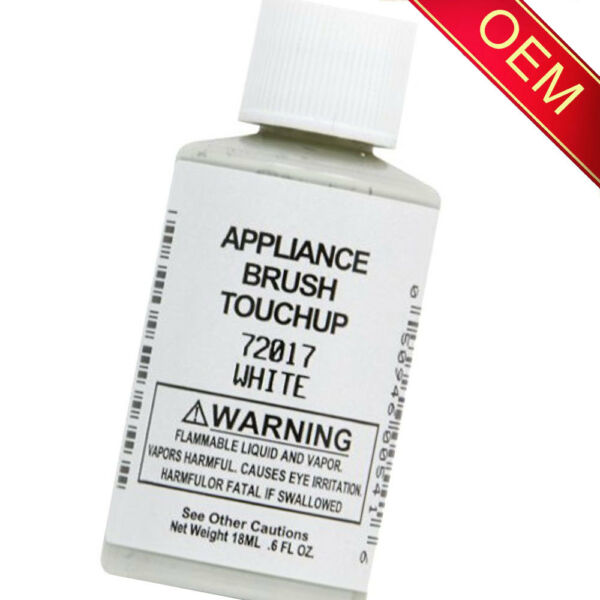 72017 White Appliance Touchup Paint for Whirlpool Kenmore Sears Roper Maytag