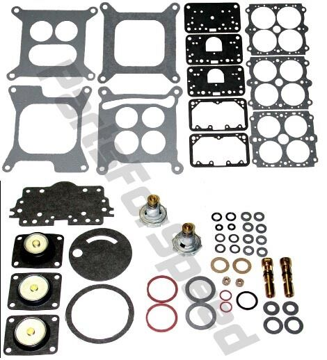 Holley 4150 Carb Rebuild Kit Double Pumper 750 650 600 $41.99