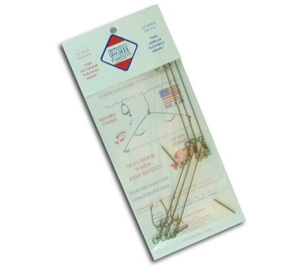 Speedhook Fishing and Snare Kit 3 Pack for Pole Trot Line Survival Emergency