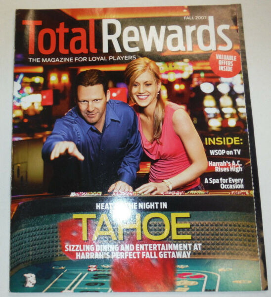 Total Rewards Magazine Heat Up In Tahoe Fall 2007 122214R2 $14.99