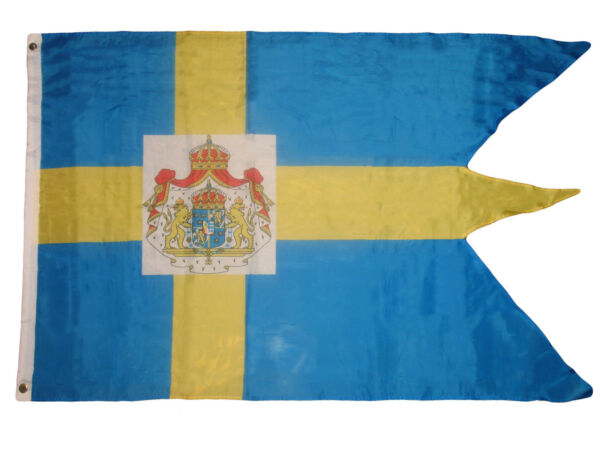3X5 Sweden Royal Standard Premium Flag 3'x5' Swallow Tail Banner Super Polye