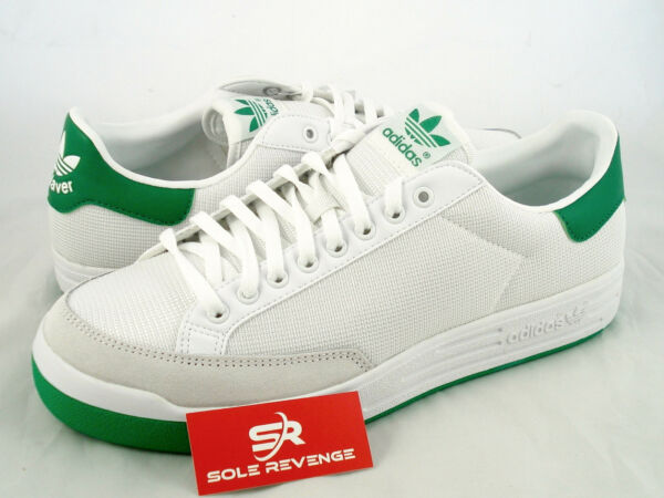 New 9 Adidas 2014 Originals 70s ROD LAVER Shoes White Green G99863 stan smith