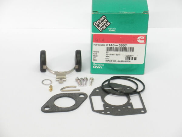 ONAN CARBURETOR KIT 146 0657 Late Nikki Performer 16 18 20 P216G P218G P220G