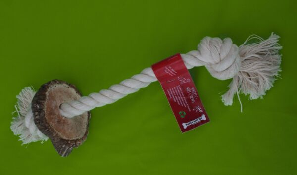 Antler Rope Toys by Perfect Pet Chews $13.80