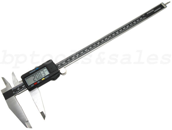12quot; 300MM Electronic Digital Caliper Precision Stainless Inch Metric LCD Dial