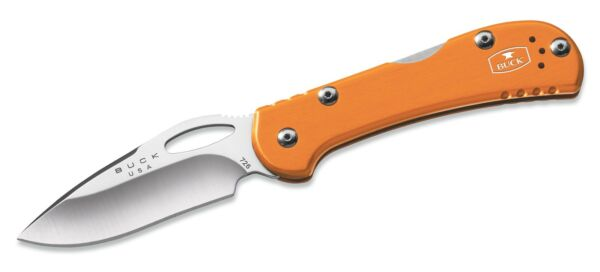 Buck Knives 726 Mini Spitfire Orange Folding Knife 726ORS