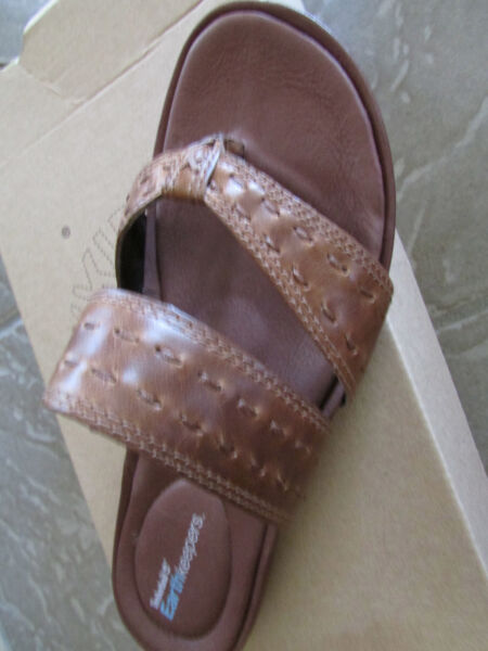 NEW TIMBERLAND EARTHKEEPERS PLEASANT BAY THONG SLIDE SANDALS WOMENS 6.5 FREE SHP