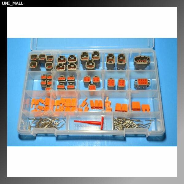 181 PCS Deutsch DTM Genuine Connector Kit & Removal Tools, Made in USA