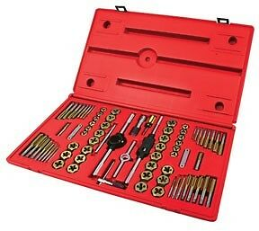 ATD #276  Machine Screw Fractional & Metric Tap & Die Set 76 pc.