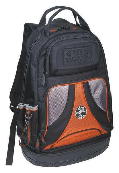 Tradesman Pro™ Tool Backpack, 39 Pockets KLEIN TOOLS 55421BP-14