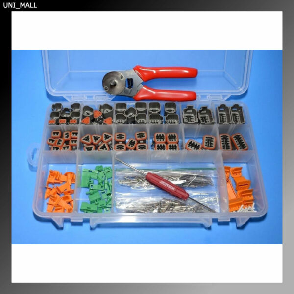 432 PCS DEUTSCH DT Genuine 14-16AWG Solid Contacts KIT + Tools, USA