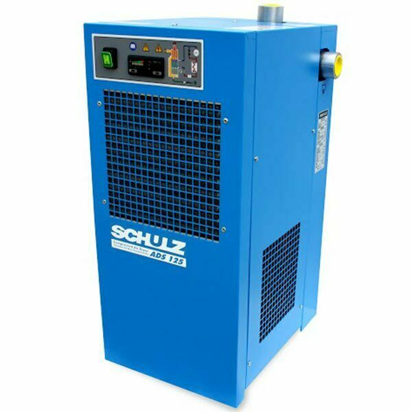 Schulz ADS 125 Non-Cycling Refrigerated Air Dryer (125 CFM 115V 1-Phase)