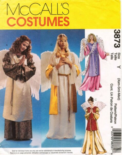 McCall#x27;s Misses#x27; Angel Costumes Pattern 3873 Size 4 14 $5.00
