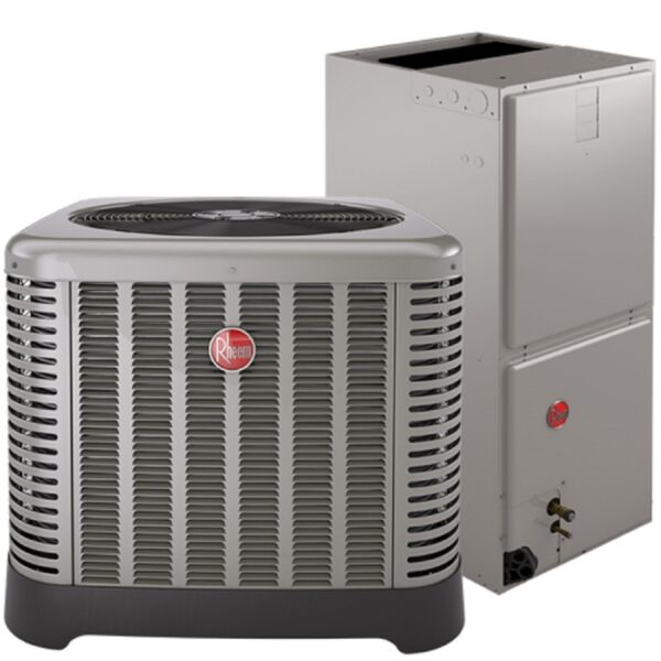 CENTRAL AIR CONDITIONING COMPLETE TURN KEY SYSTEM RHEEM 14 SEER 5 TON $5800.00